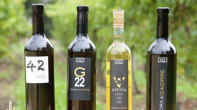All Gorka Izagirre wines are excellent according to Peñín Guide 2017