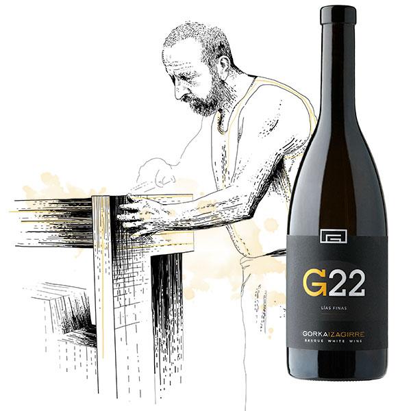 Ilustración txakoli G22 by Gorka Izagirre