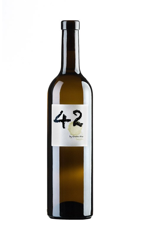 Basque white wine 42 by Eneko Atxa