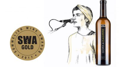 Gorka Izagirre txakolinak urrezko domina jaso du 2017ko Sommelier Wine Awards-etan