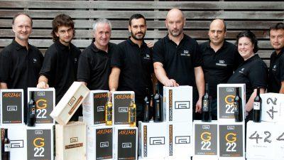 42 by Eneko Atxa, de la bodega Gorka Izagirre elegido como mejor vino blanco en el Concurso Internacional de Bruselas